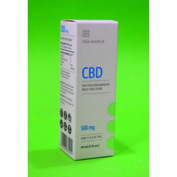 USA Medical 500mg CBD olaj 30ml