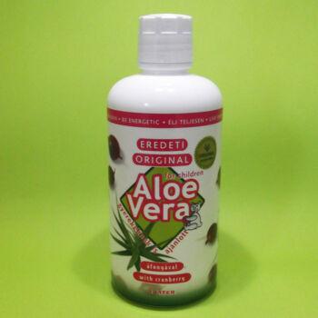 Eredeti Aloe vera ital áfonyával 1000ml