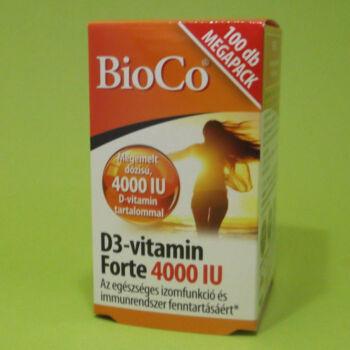 Bioco D3-vitamin Forte 4000IU 100db