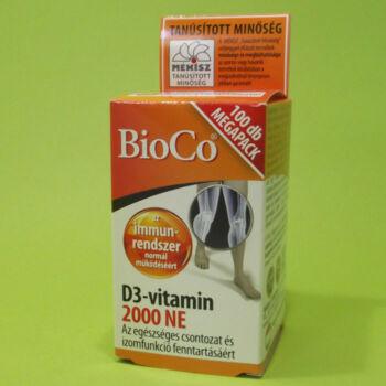 Bioco D3-vitamin 2000NE Megapack 100db