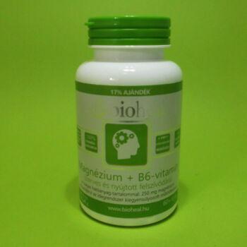 Bioheal Magnézium B6 vitamin tabletta 70db