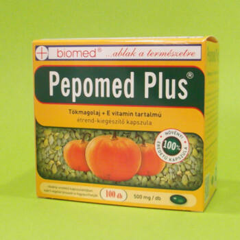 Biomed Pepomed Plus Tökmagolaj kapszula