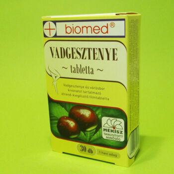 Biomed Vadgesztenye tabletta 30db