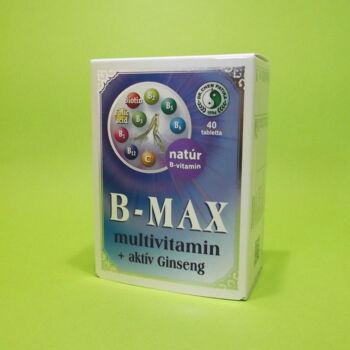Dr.Chen B-Max multivitamin