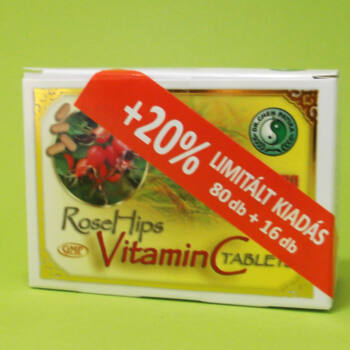Dr. Chen C-vitamin csipkebogyó kivonattal tabletta 80db