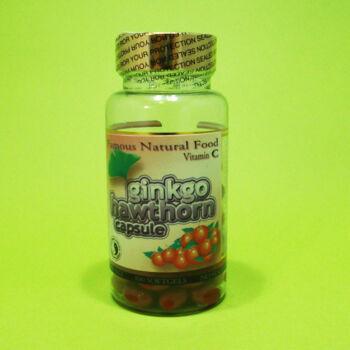 Dr. Chen Ginkgo+Galagonya C-vitamin kapszula 100db
