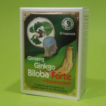 Dr. Chen Ginseng Ginkgo Biloba Forte kapszula 30db