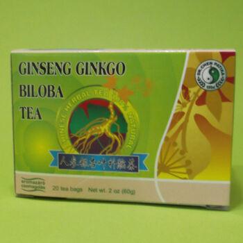 Dr. Chen Tea Ginseng Ginkgo Biloba  Zöld tea filteres 20x3g