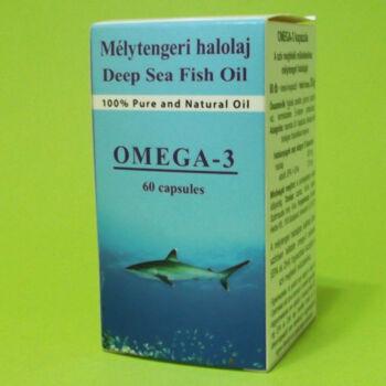 Dr. Chen Omega-3 Mélytengeri Halolaj kapszula 60db