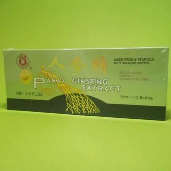 Dr. Chen Panax Ginseng extraktum ampulla 10x10ml