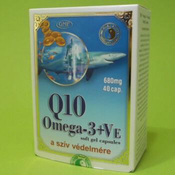 Dr. Chen Q10 Koenzim+Omega-3+E-vitamin kapszula 40db