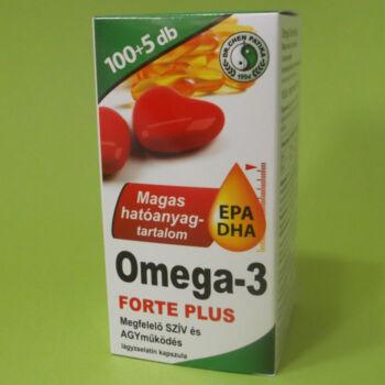 Dr. Chen Omega-3 Forte Plus lágyzselatin kapszula 105db