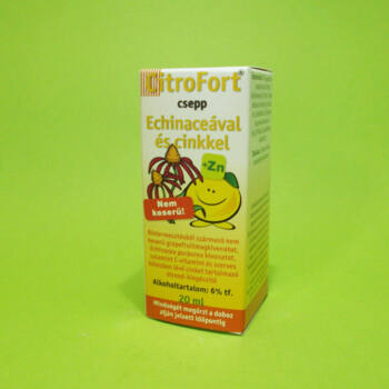 Citrofort Echinacea csepp cinkkel 20ml