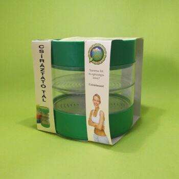 Csíráztató tál 4 részes műanyag