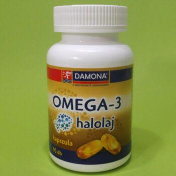 Damona Omega-3 halolaj kapszula 90db
