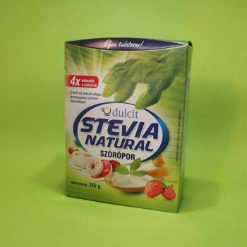 Dulcit Stevia Natural szórópor 250g