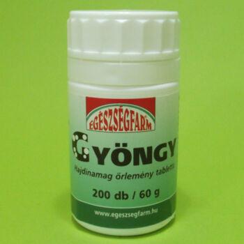 Egészségfarm Gyöngy tabletta 200db