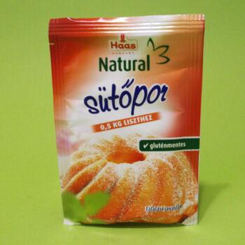 Haas Natural Gluténmentes Sütőpor