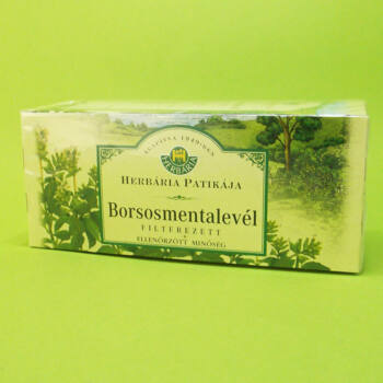 Herbária tea borsosmenta filteres 25db