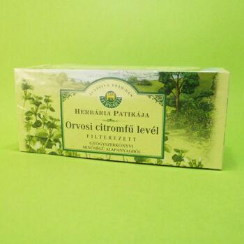 Herbária tea Orvosi Citromfű levél filteres 25db