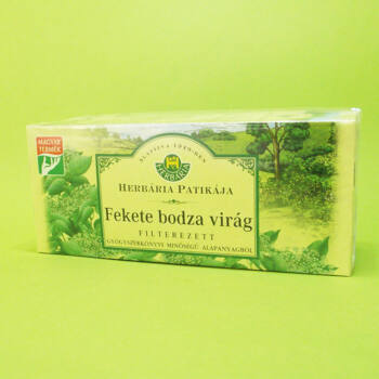 Herbária tea Fekete bodza filteres 25db