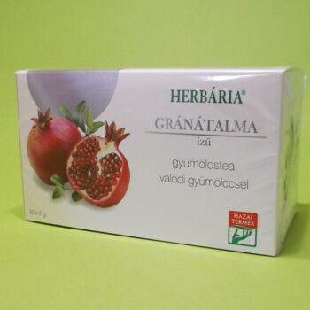 Herbária Gránátalma ízű gyümölcstea 20x2g
