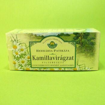 Herbária tea Kamillavirágzat filteres 25db