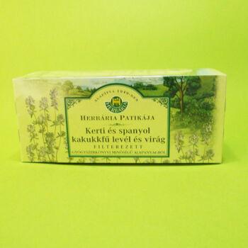 Herbária tea Kerti kakukkfű filteres 25db