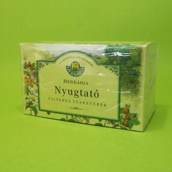Herbária Nyugtató teakeverék filteres 20db