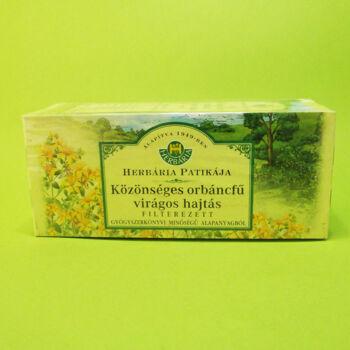 Herbária tea Közönséges Orbáncfű virágos hajtásvég filteres 25db