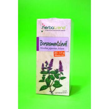 Herbatrend Borsmentalevél filteres 20x2,5g