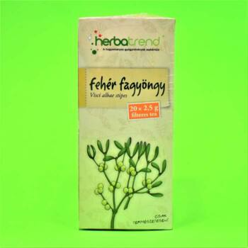 Herbatrend Fehér Fagyöngy Filteres Tea 20x2,5g