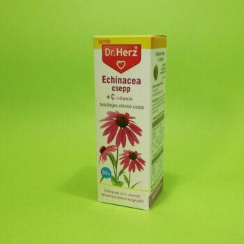 Dr. Herz Echinacea csepp +C-vitamin 50ml