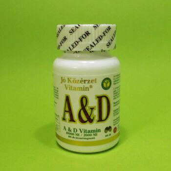 Jó közérzet A & D vitamin 100db