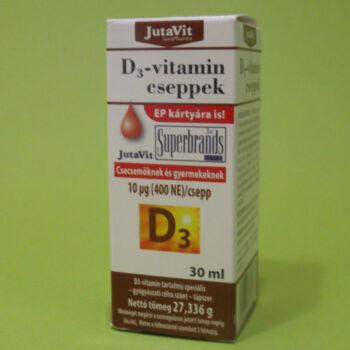 Jutavit D3-vitamin cseppek 30ml