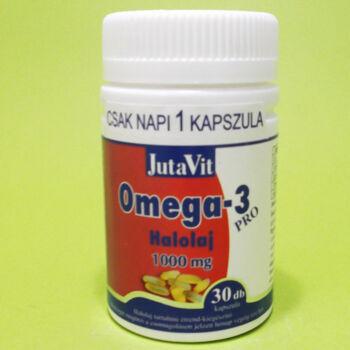 Jutavit Omega-3 Pro Halolaj 1000mg kapszula 30db