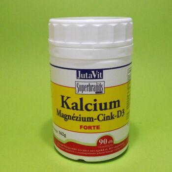 Jutavit Kalcium-Magnézium-Cink Forte tabletta 90db