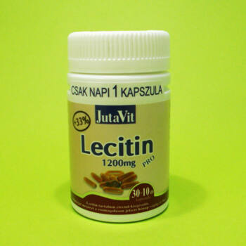 Jutavit Lecitin Pro 1200mg kapszula 30db