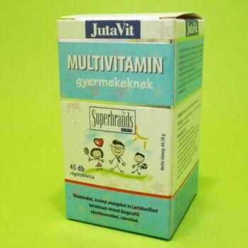 Jutavit Multivitamin gyerekeknek rágótabletta 45db