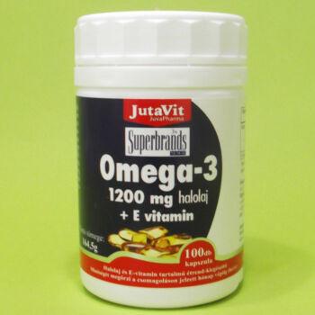 Jutavit Omega-3 Halolaj 1200mg kapszula 100db