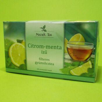 Mecsek Citrom-Menta ízű gyümölcstea 20x2g