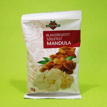 Naturfood Mandula szeletelt 75g