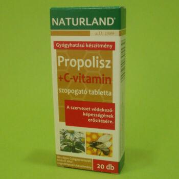 Naturland Propolisz+C-vitamin tabletta 20db