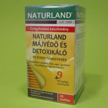 Naturland Májvédő teakeverék filteres 25x1,5g
