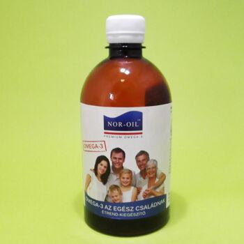 Nor-Oil Szűz Lazacolaj Az egész családnak 500ml
