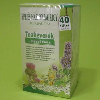 Pavel Vana Epe és Hasnyálmirigy teakeverék filteres 40x1,6g
