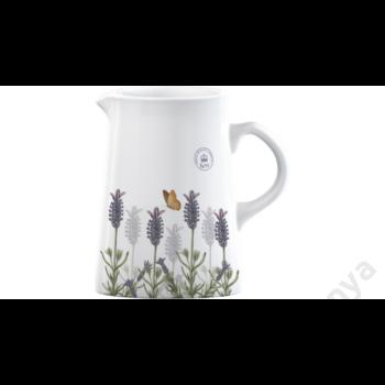 Porcelán kancsó Levendulás 1000ml Lavender