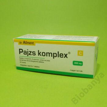 Dr. Aliment Pajzs komplex tabletta