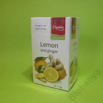 Apotheke Gyömbér-citrom tea 20x2g
