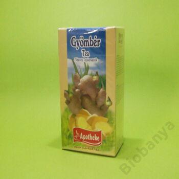 Apotheke Gyömbér tea filteres 20x1,5g